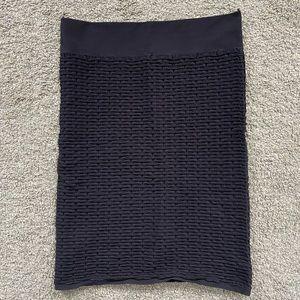 Vero Moda Stretchy Textured Pencil Skirt